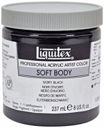 LIQUITEX SOFT BODY BURNT SIENNA 237 ML