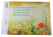 SMILTAINIS AKVARELLBLOCK A4 10 ARK 200GR