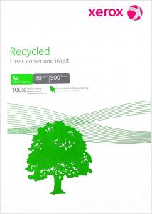 XEROX RECYCLED 80G A4 500-PACK