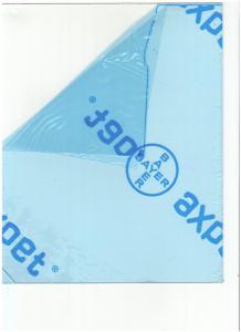 POLYESTER PLAST KLAR 1MM 51X62CM