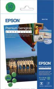EPSON PREMIUM SEMIGLOSS 10X15CM 50-P