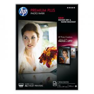 FOTOPAPPER INK PPR HP PREM+ SG 300G A4 20