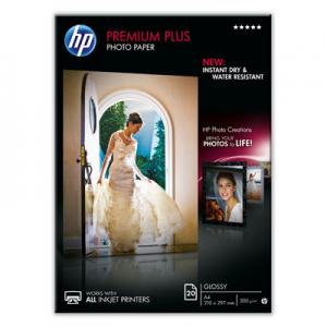 FOTOPAPPER INK PPR HP PREMIUM PLUS 300G A4 20-P