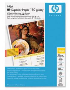 FOTOPAPPER INK PPR HP SUPERIOR 180G A3 50-PACK