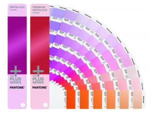 PANTONE+ FÄRGKARTA METALLIC GUIDE SET