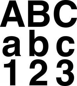 självhäftande bokstäver biltema