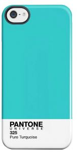 PANTONE IPHONE 5 COVER PURE TURQUOISE