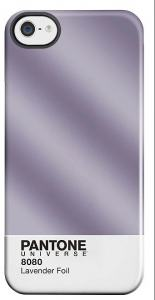 PANTONE IPHONE 5 COVER LAVENDER FOIL