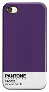 PANTONE IPHONE 5 COVER IMPERIAL PURPLE