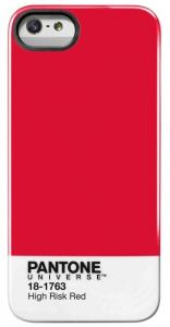 PANTONE IPHONE 5 COVER HIGH RISK RED