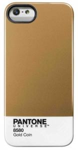 PANTONE IPHONE 5 COVER GOLD COIN