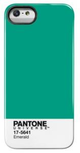 PANTONE IPHONE 5 COVER EMERALD