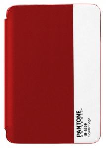 PANTONE IPAD MINI CASE RED