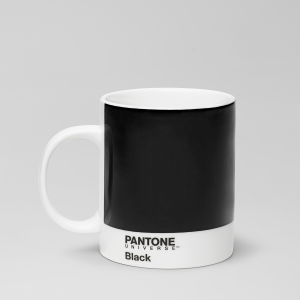 PANTONE MUGGAR BLACK 6-PACK
