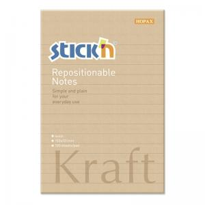 NOTES KRAFTBLOCK, 150X101MM LINJERAT