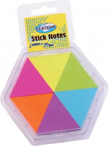 STICK NOTES 43X50MM NEON