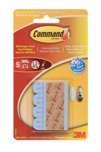 3M COMMAND MONTERINGSSTRIPS 1,5X4,7CM 12-PACK