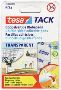 TESA DUBBELHÄFTANDE BRICKOR, 60/ST