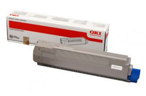 TONER OKI C801 C821 YELLOW