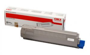 TONER OKI C801 C821 SVART