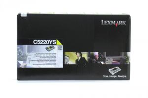 LEXMARK TONER C522 YELL 3K