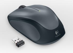 LOGITECH M235 WIRELESS MOUSE SVART