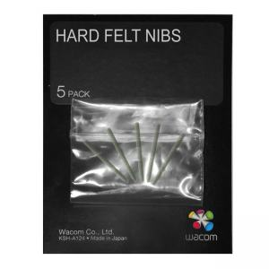 WACOM INTUOS4 HARD FELT NIBS 5-PACK