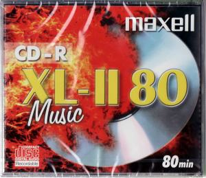 CD-R80 MAXELL AUDIO 80MIN
