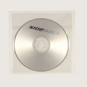 CD-FICKA SJÄLVHÄFTANDE MED FLIK