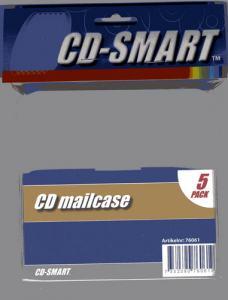 CD/DVD-FÖRVARING MAILCASE