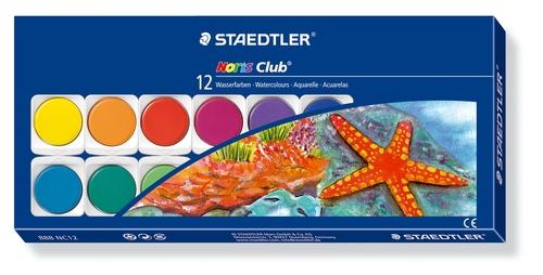 STAEDTLER NORIS CLUB VATTENFÄRGER 12-SET