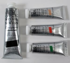 WINSOR & NEWTON DESIGNERS GOUACHE 14ML ORANGE LAKE DEEP 452