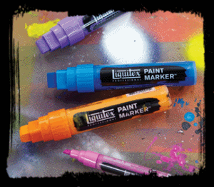 LIQUITEX FINE MARKER BRILLIANT BLUE 0570