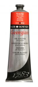 DALER ROWNEY GEORGIAN OLJEFÄRG 75ML LIGHT RED 527