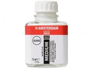AMSTERDAM ACRYLIC MEDIUM GLOSS 012 75ML