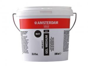 AMSTERDAM HEAVY GEL MEDIUM MATT 020 1000ML