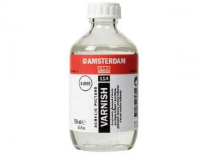 AMSTERDAM ACRYLIC VARNISH GLOSS 114 250ML