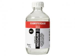 AMSTERDAM ACRYLIC MEDIUM MATT 117 250ML