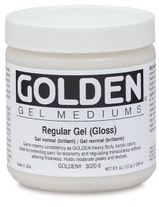GOLDEN REGULAR GEL SEMI GLOSS 237ML