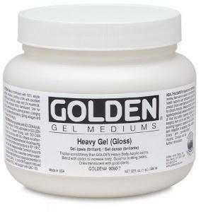 GOLDEN HEAVY GEL SEMI GLOSS 237ML