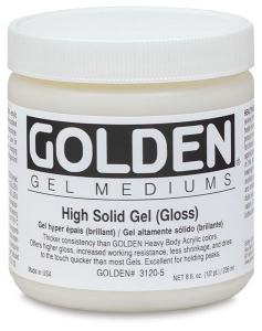 GOLDEN HIGH SOLID GEL GLOSS 237ML