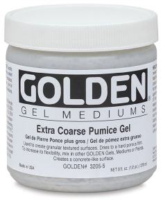 GOLDEN EXTRA COARSE PUMICE GEL 237ML