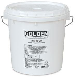 GOLDEN CLEAR TAR GEL 237ML