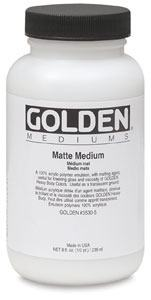 GOLDEN MATTE MEDIUM 237ML