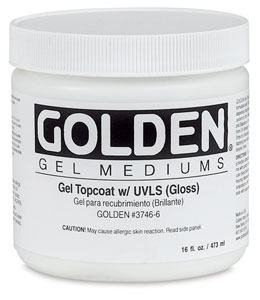 GOLDEN GEL TOPCOAT GLOSS 237ML
