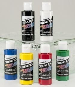 CREATEX AIRBRUSH COLORS 60ML FLUORESCENT GREEN 5404