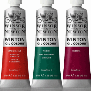 WINSOR & NEWTON WINTON OLJEFÄRG 37ML CADMIUM LEMON HUE 087
