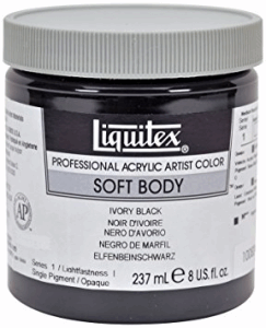 LIQUITEX SOFT BODY TITANIUM WHITE 237 ML