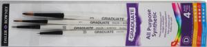 GRADUATE PENSEL SYNTETHIC DETAIL SET