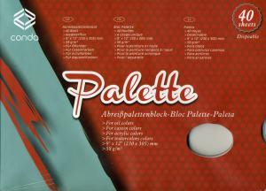 PALETT I PAPPER 40 BLAD CONDA